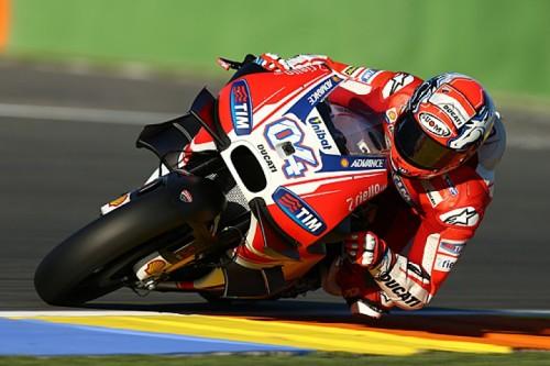 Ducati Winglets Test